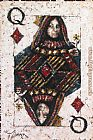 Trevor Mezak Queen of Diamonds painting